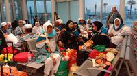 Jemaah Haji Indonesia yang akan pulang ke Tanah Air. Dok Daker Bandara
