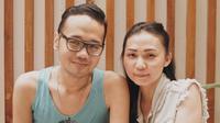 Andika Kerispatih dan calon istrinya, Nicky Santoso. (Instagram/dikabassman)