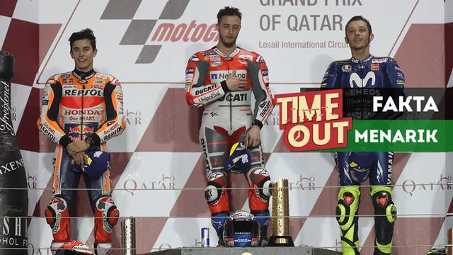 Berita video Time Out kali ini tentang fakta-fakta menarik jelang MotoGP Argentina 2018.