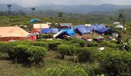 Ratusan warga Desa Malasari, Kecamatan Nanggung, Kabupaten Bogor, Jawa Barat masih trauma dengan gempa. (Liputan6.com/Achmad Sudarno)