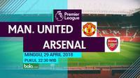 Premier League Manchester United Vs Arsenal (Bola.com/Adreanus Titus)