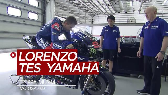 Berita video mengenai kesibukan tim Yamaha menghadapi musim baru MotoGP 2020. Saat Valentino Rossi sibuk menyapa fans di Jakarta, Jorge Lorenzo sedang sibuk melakukan tes motor Yamaha di Sirkuit Sepang Malaysia.