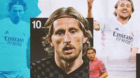 Real Madrid - Luka Modric (Bola.com/Adreanus Titus)