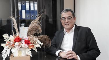 Pimpinan Ombudsman Republik Indonesia Periode 2021-2026, Indraza Marzuki Rais. (Liputan6.com/Ahmad Adirin)