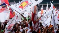 Kampanye Partai Gerindra (Liputan6.com/Helmi Fithriansyah)