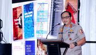 Wakapolri Komjen Gatot Eddy Pramono saat menghadiri kuliah umum di Universitas Riau. (Istimewa)
