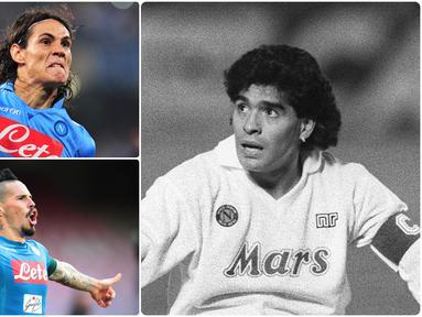 Napoli sebagai klub kuda hitam Italia memiliki sejumlah pemain-pemain hebat yang disegani pemain lawan. Diego Maradona menjadi satu diantara bintang Napoli yang sangat melegenda berkat permainannya. Berikut Diego Maradona dan bintang Napoli sepanjang masa.