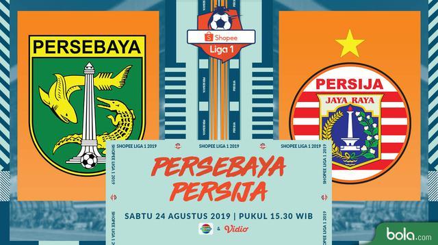 Shopee Liga 1 - Persebaya Surabaya Vs Persija Jakarta (Bola.com/Adreanus TItus)