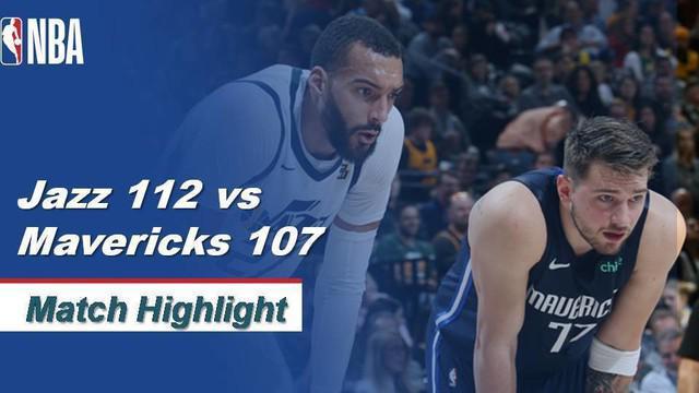 Berita video highlights kompetisi basket NBA yang mempertemukan Utah Jazz vs Dallas Mavericks pada 26 Januari 2020 WIB.