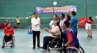 Asian Para Games 2018, Presiden Jokowi