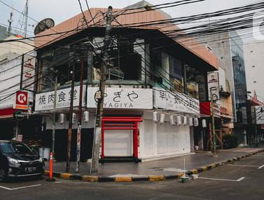 Kesunyian Hinggapi Kawasan Little Tokyo Blok M