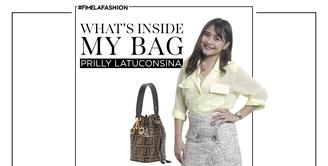 What's Inside My Bag: Prilly Latuconsina