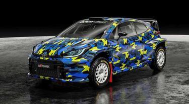 Mobil reli Ryan Nirwan yang siap turun di Kejurnas Reli 2022