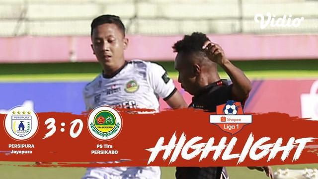 Laga lanjutan #shopeeliga1, #Persipura Jayapura vs #PSTira Persikabo  pada hari Rabu sore (02/10/2019) berakhir  dengan skor 3-0.
