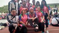 Ashila, salah seorang relawan Asian Para Games 2018 (Cakrayuri Nuralam/Liputan6.com)