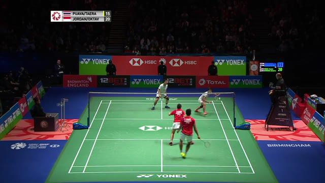 Berita video highlights final All England 2020 nomor ganda campuran, di mana wakil Indonesia, Praveen Jordan / Melati Daeva Oktavianti, menjadi juara setelah mengalahkan Dechapol Puavaranukroh / Sapsiree Taerattanachai dari Thailand, Minggu (15/3/202...