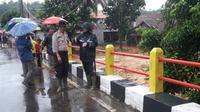 Banjir dan longsor terjadi di Lebak, Banten. (Liputan6.com/ Yandhi Deslatama)