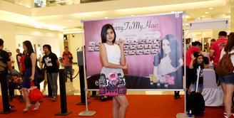 Audisi Miss Celebrity Indonesia 2015 telah sampai di kota Jakarta dan bertempat di Mall Kota Kasablanka, Jakarta Selatan, Sabtu (10/10/2015). (Nurwahyunan/Bintang.com)