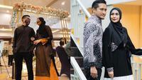 Arie Untung dan Fenita Arie pakai baju couple. (Instagram/@fenitarie/@ariekuntung)