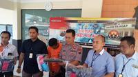 Kepolisian Resor Cilacap mengungkap kasus pencabulan anak di bawah umur yang dilakukan oleh tiga lelaki. (Foto: Liputan6.com/Polres Cilacap/Muhamad Ridlo)