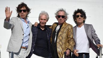 Mengharukan, Penampilan Perdana The Rolling Stones Tanpa Mendiang Charlie Watts