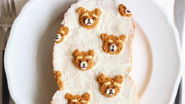 Seni Menghias Roti Tawar Dengan Gambar Yang Menggemaskan