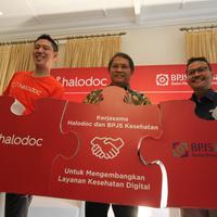 BPJS Kesehatan gandeng Halodoc kembangkan layanan kesehatan secara digital