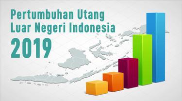 Pertumbuhan Utang Luar Negeri Indonesia 2019