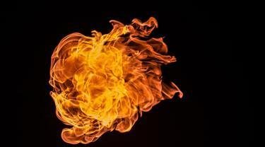 Ilustrasi api
