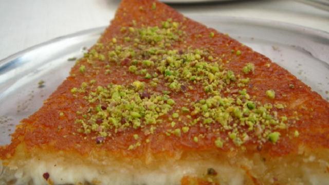 Kue Knafeh Hidangan Wajib Masyarakat Palestina Saat Ramadan Ramadan Liputan6 Com