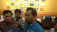 Direktur Reserse Kriminal Khusus Polda Sulsel, Kombes Pol Yudhiawan Wibisono tegaskan pihaknya lanjutkan kembali penyidikan kasus dugaan korupsi Bandara Mangkendek, Kabupaten Tana Toraja, Sulsel (Liputan6.com/ Eka Hakim)