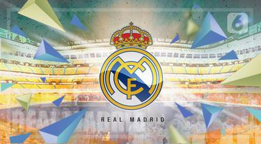 ilustrasi real madrid