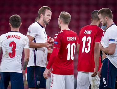 Inggris Tertahan di Markas Denmark Pada Lanjutan UEFA Nations League