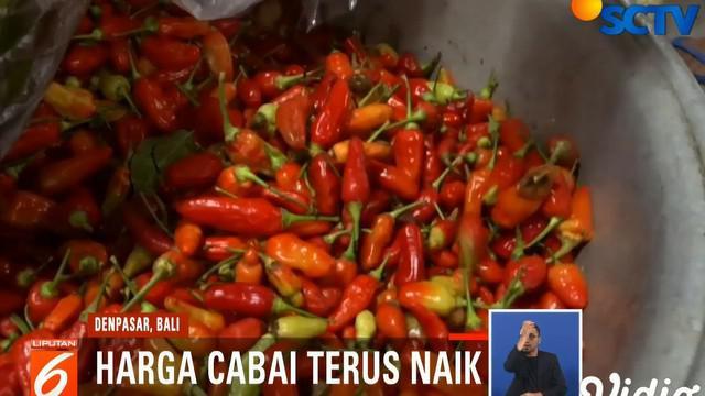Untuk menyiasati tingginya harga cabai, para pedagang pun menjual cabai dengan kualitas rendah yang dipatok dengan harga Rp 60 ribu per kilogram.