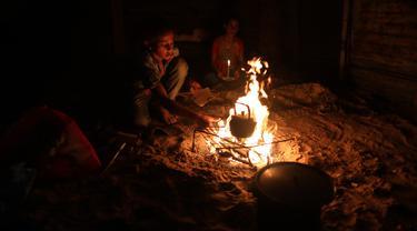 Pembangkit Listrik Satu-satunya di Gaza Mati
