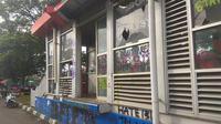 Kondisi halte BRT di bilangan Jalan Urip Sumoharjo, Makassar (Liputan6.com/ Eka Hakim)