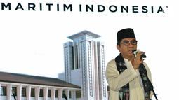 Dirut IPC Evlyn G Masassya saat membuka Museum Maritim Indonesia di Kantor Pusat PT Pelabuhan Indonesia II Persero (IPC), Jakarta, Jumat (7/12). Museum tersebut menjadi pusat edukasi dan informasi perkembangan dunia maritim. (Lipiutan6.com/JohanTallo)