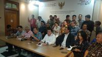 TKN menggelar jumpa pers di Posko Cemara, Jakarta. (Liputan6.com/Putu Merta Surya Putra)