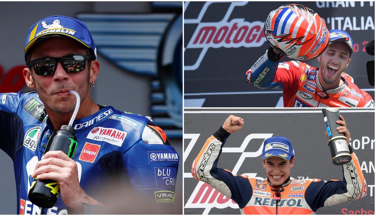 FOTO: 10 Pembalap MotoGP dengan Follower Instagram Terbanyak, Valentino  Rossi Kalahkan Marc Marquez - MotoGP Bola.com