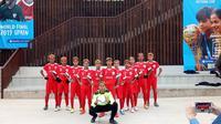 ASIOP Apacinti di Final Dunia Danone Nations Cup (Liputan6.com / Jonathan Pandapotan)