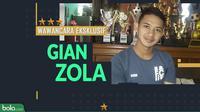 Wawancara Eksklusif Gian Zola. (Bola.com/Dody Iryawan)