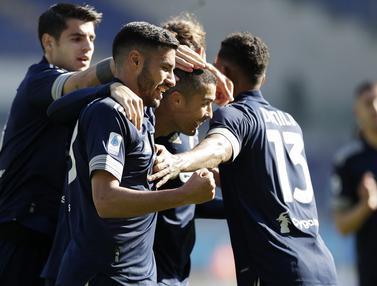 Foto Liga Italia: Kemenangan Juventus Sirna di Masa Injury Time Saat Bertandang ke Markas Lazio di Olimpico