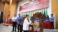 Megawati resmi membuka Lomba Cerdas Cermat di lingkup Kemendagri dan BNPP.