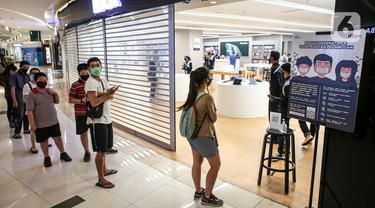 Protokol Kesehatan di Hari Pertama Pembukaan Mal Jakarta