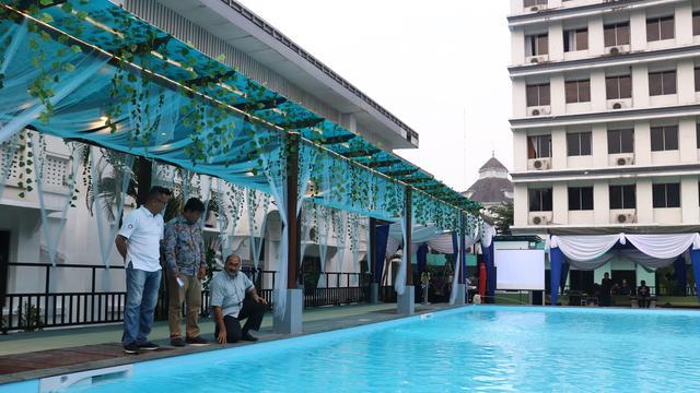 Segarnya Berenang Pagi Pagi Dengan Sensasi Air Laut Di Hotel Grand Inna Medan Regional Liputan6 Com