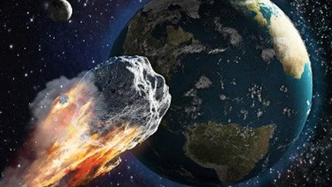 Studi Baru Kuak Asteroid Pemusnah Dinosaurus Hanta