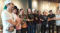 Pengisi Acara Ngaji Kebangsaan di Surabaya (Liputan6.com/Dian Kurniawan)