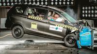 Suzuki Ertiga generasi ke-2 resmi mengantongi 3 bintang yang diselenggarakan Global NCAP di bawah kampanye #SaferCarsForIndia (Motorbeam)