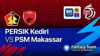 Sudah Dimulai, Link Streaming BRI Liga 1 Kamis, 23 September 2021: Persik Kediri vs PSM Makassar di Vidio
