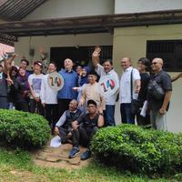 Suasana syuting sinetron Para Pencari Tuhan Jilid 12 di kawasan Jatiasih, Bekasi, Jumat (12/4/2019). (Surya Hadiansyah/Liputan6.com)
